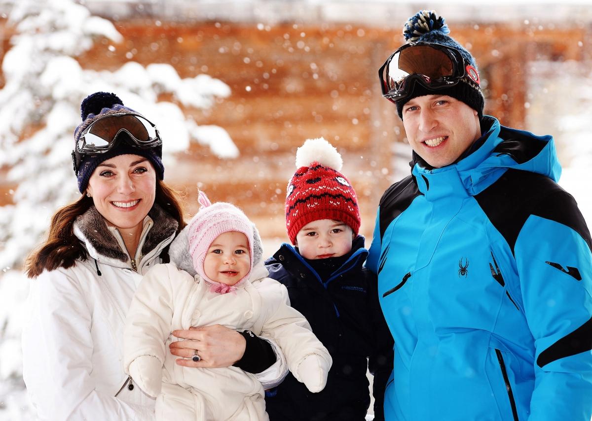 Prince William and Kate Middleton ski trip