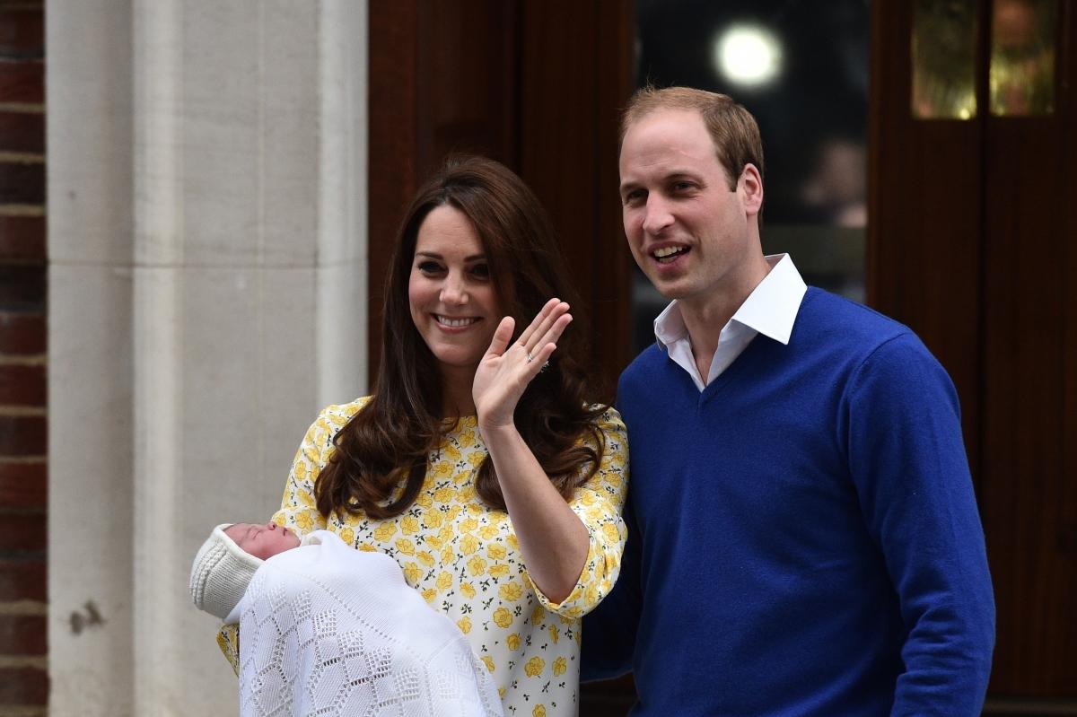 Prince William, Kate Middleton and Princess Charlotte