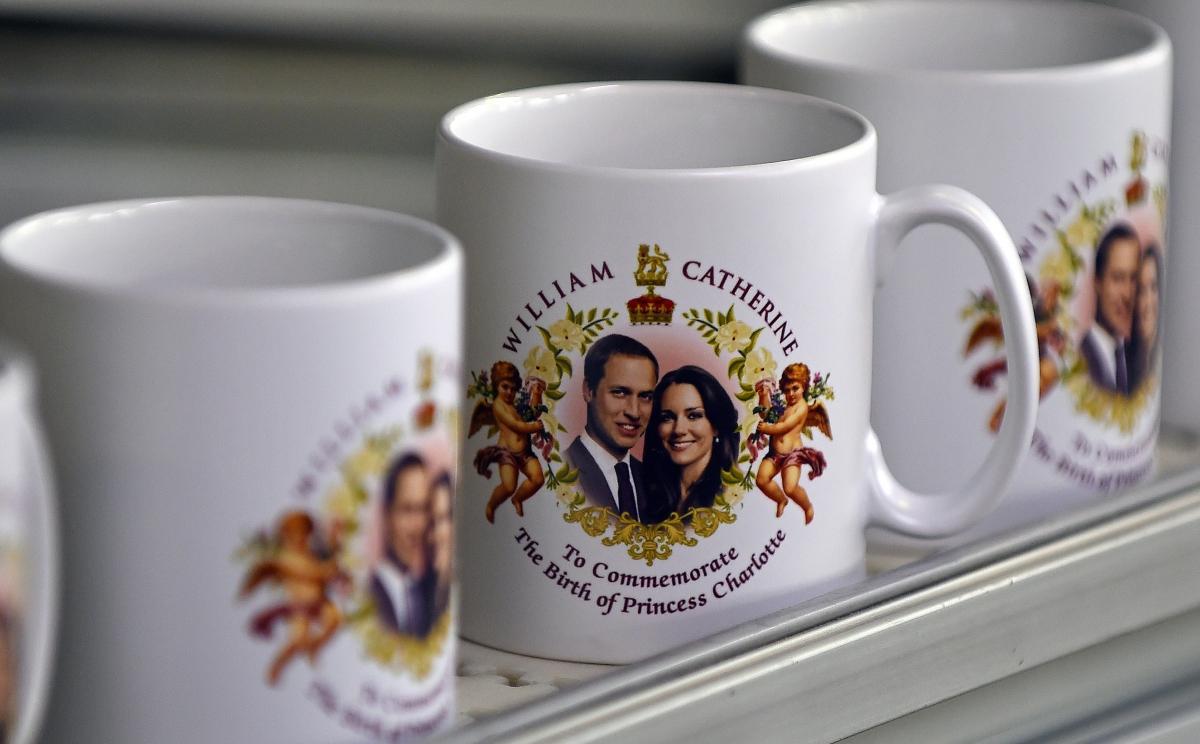The Birth Of Princess Charlotte mugs
