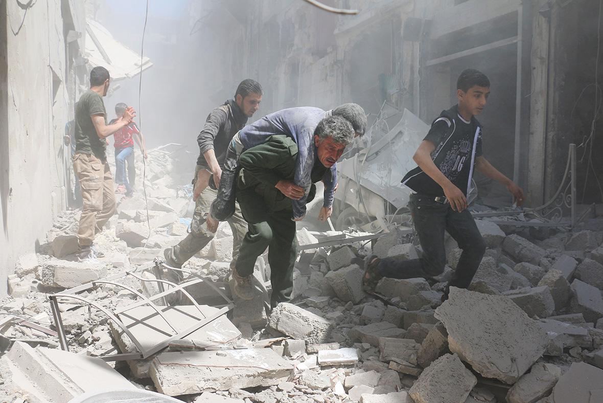 Aleppo airstrikes: Al-Qatarji