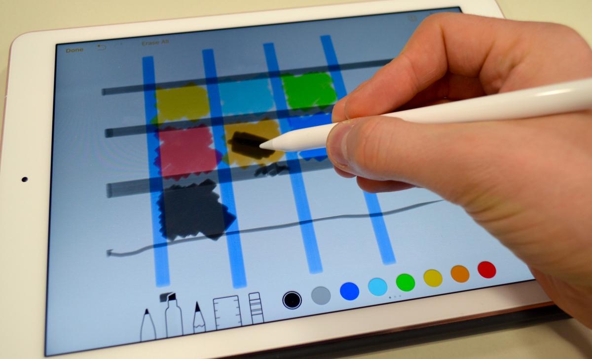 iPad Pro with Apple Pencil