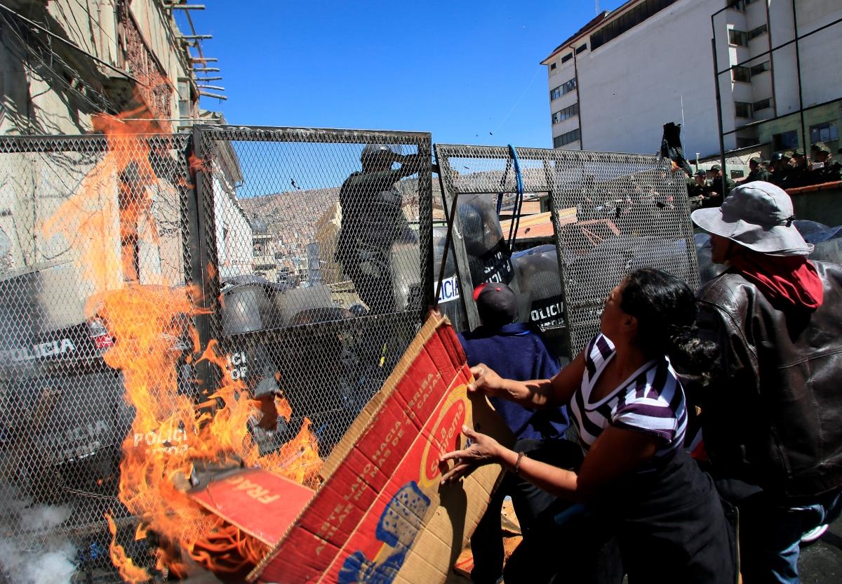 Protest La Paz