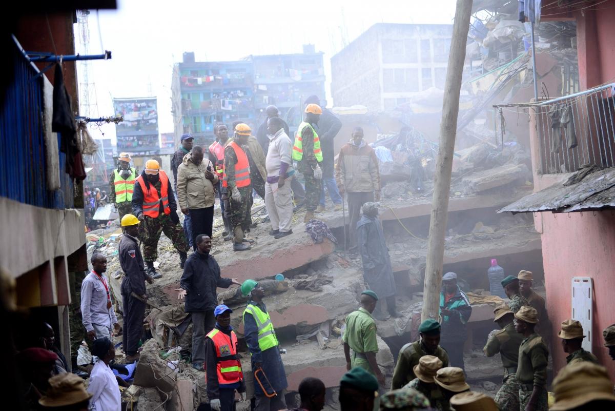 Nairobi building collapse