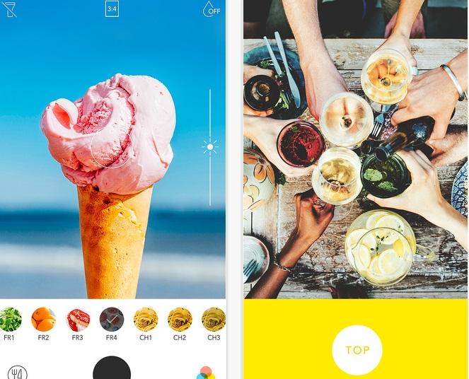Food Camera app