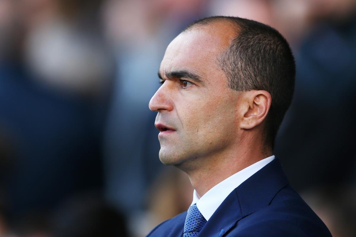 Under-pressure Everton boss Roberto Martinez