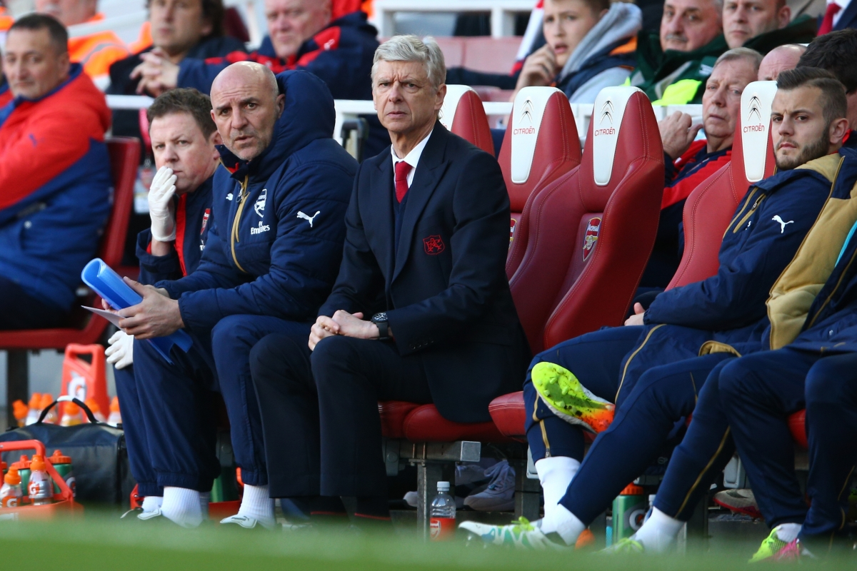Arsene Wenger faces a crucial 45 minutes