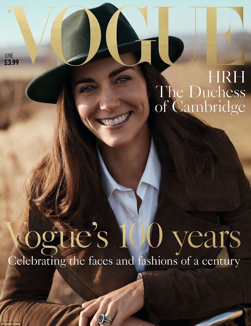 British Vogue's June issue