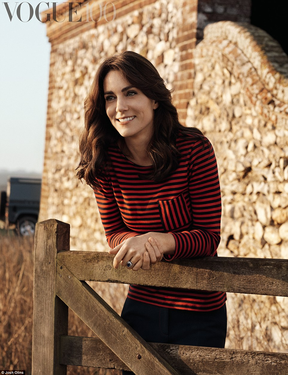 Kate Middleton shot in the Norfolk countryside