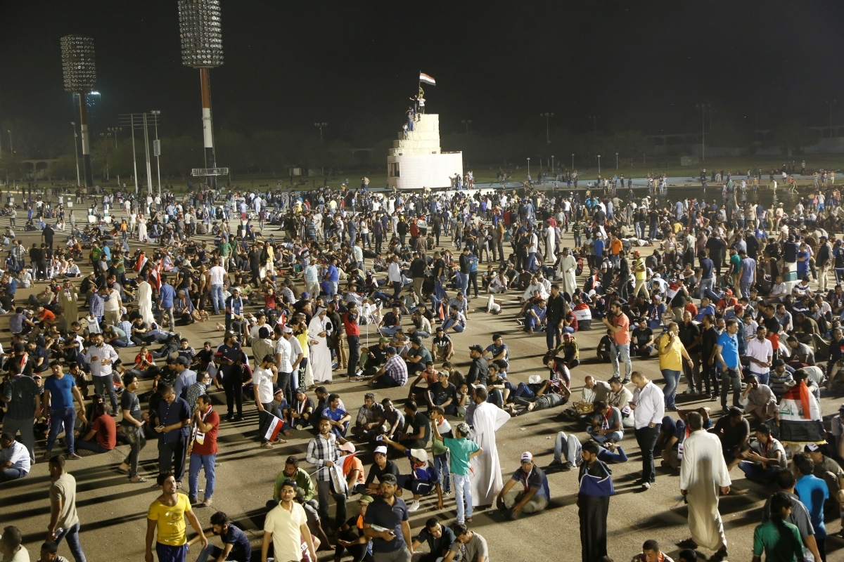 Sadr protests