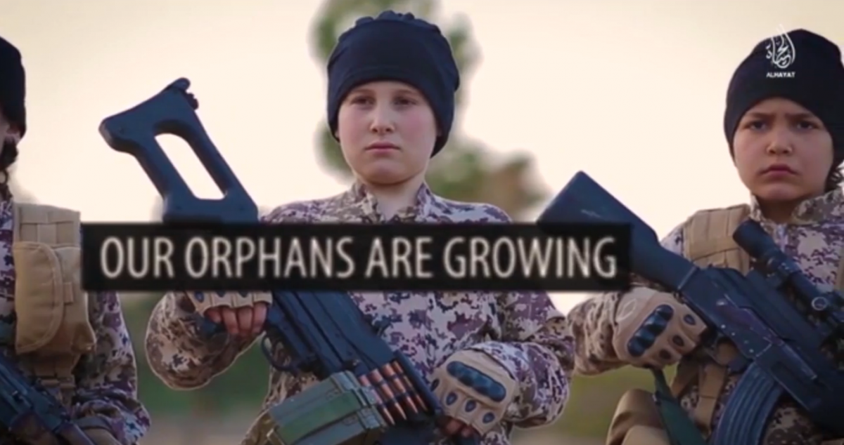 Isis orphan army