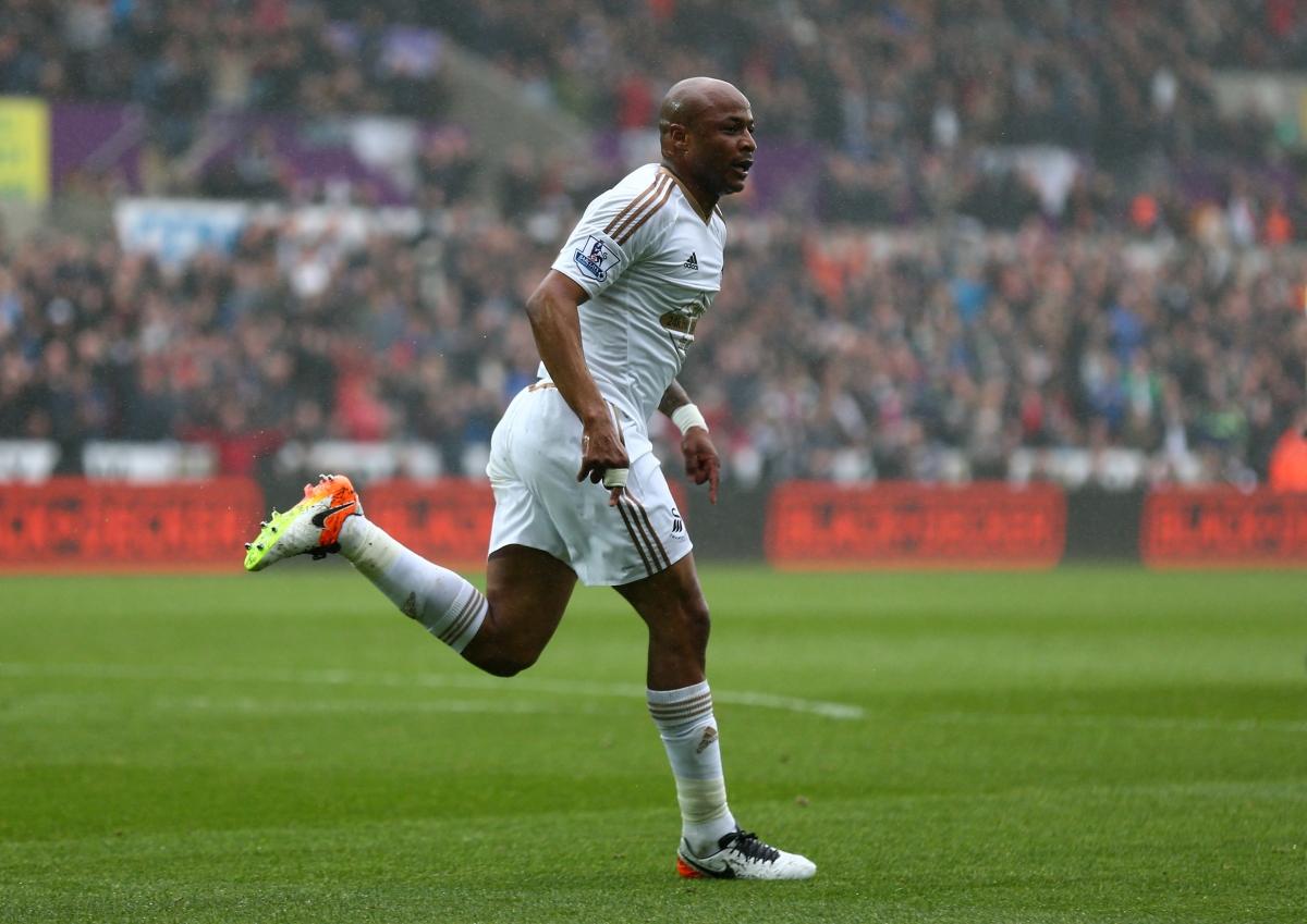 Swansea's Andre Ayew