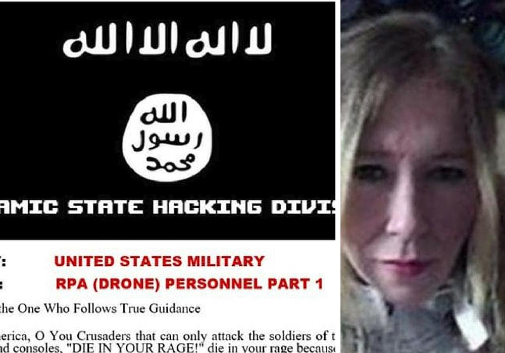 Isis hackers: British-linked jihadists publish 'hitlist' of US drone pilots