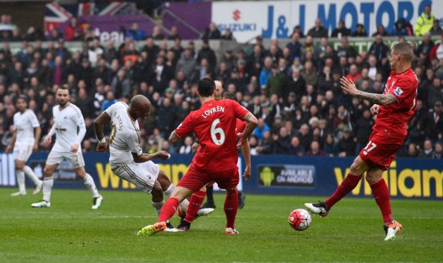 Ayew fires home his second