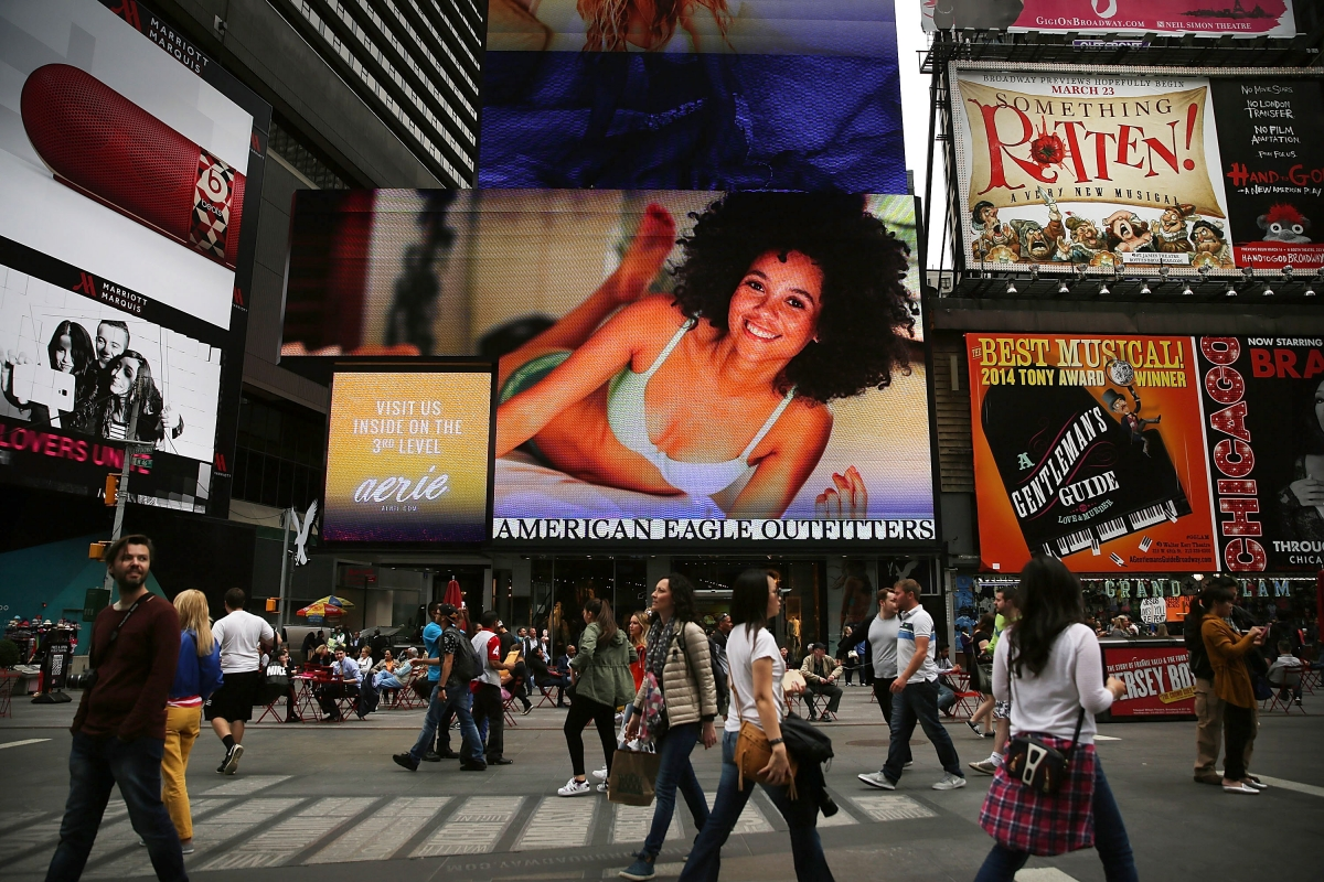 Times Square billboards