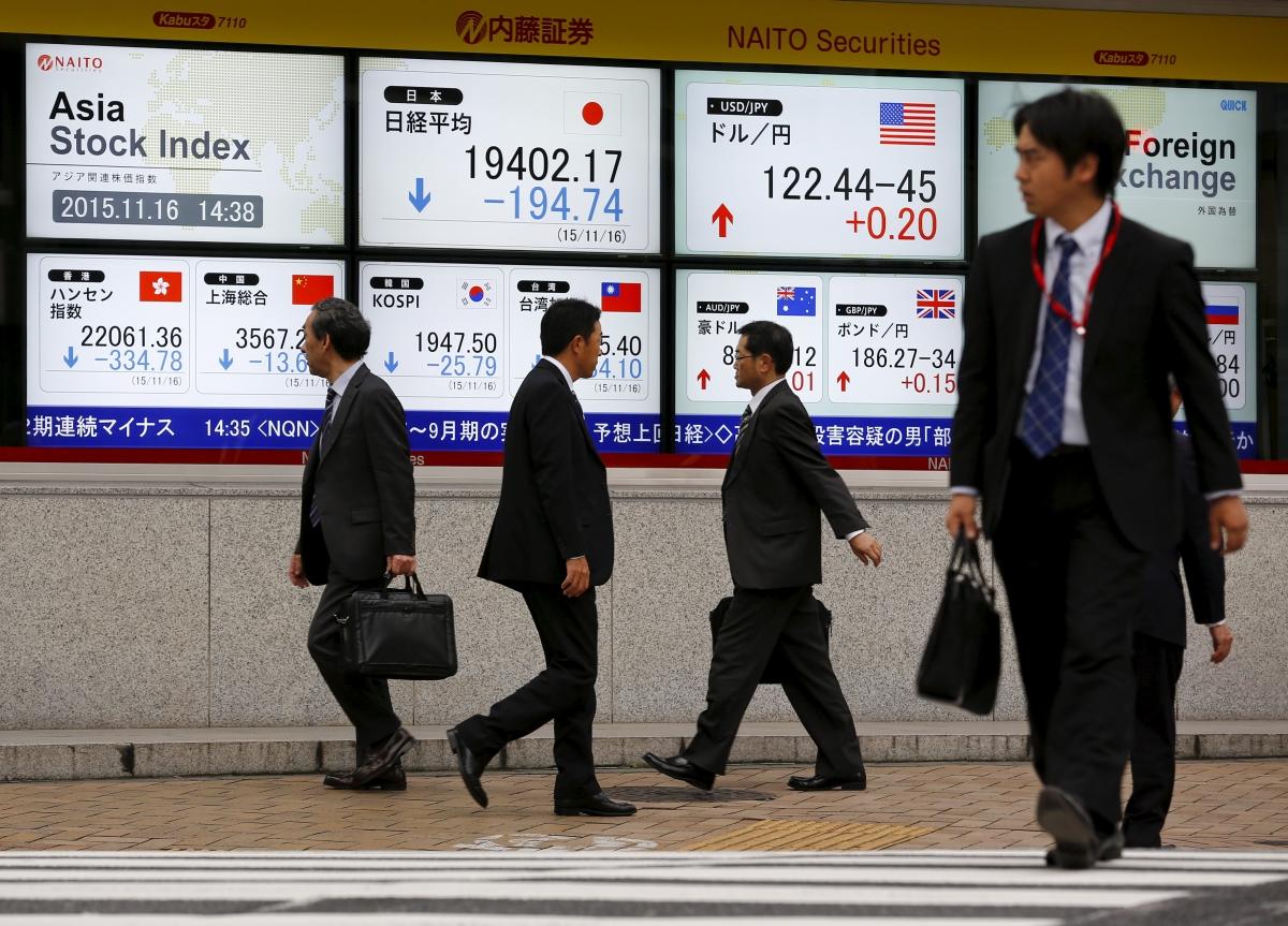 Asian markets slide, led by Japanese Nikkei