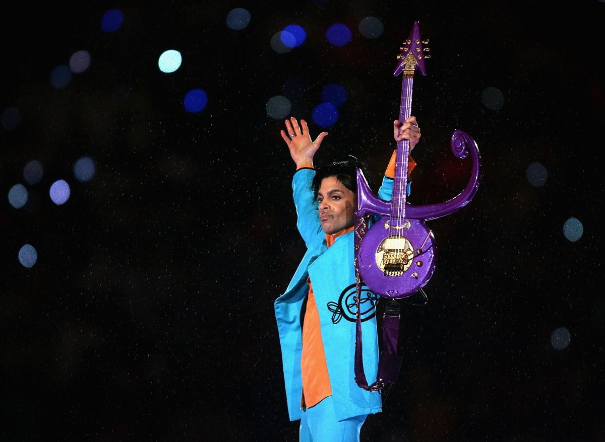 Prince singer live