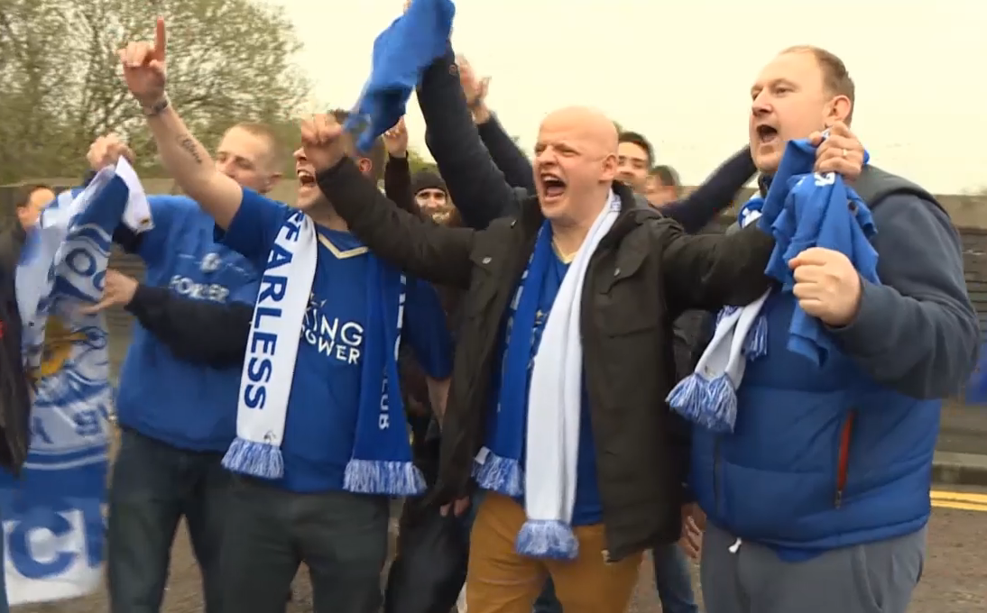 Leicester City fans reflect on miracle season as historic title awaits