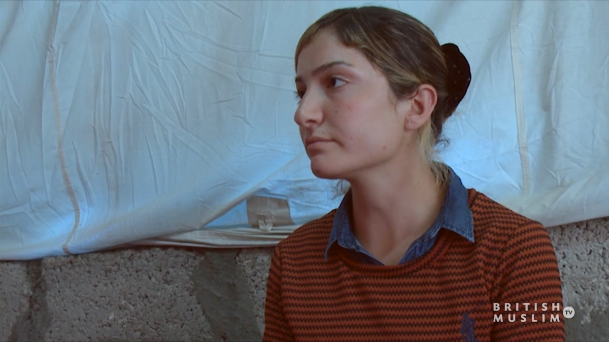 Yazidi teenager