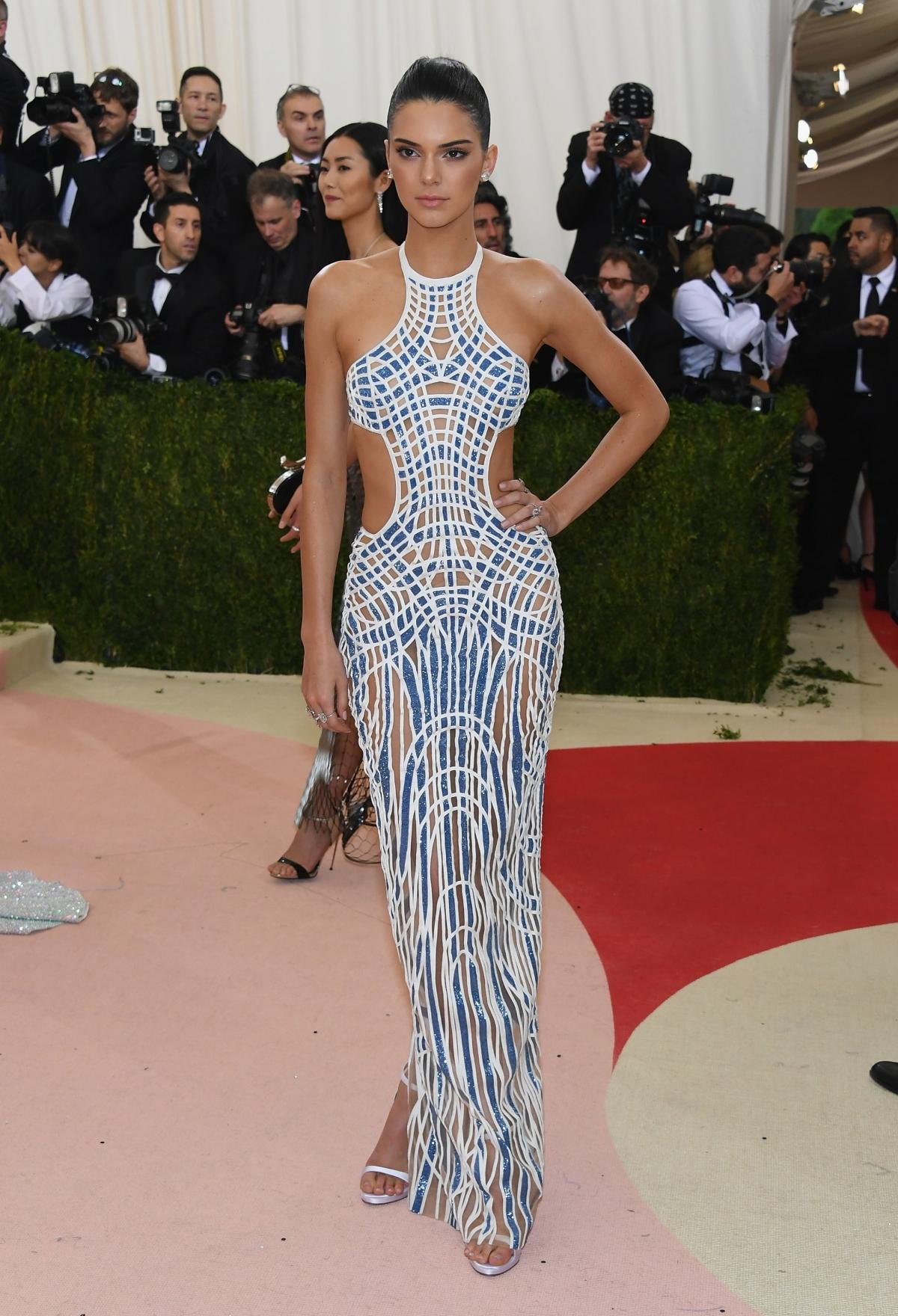 Kendal Jenner at Met Gala 2016