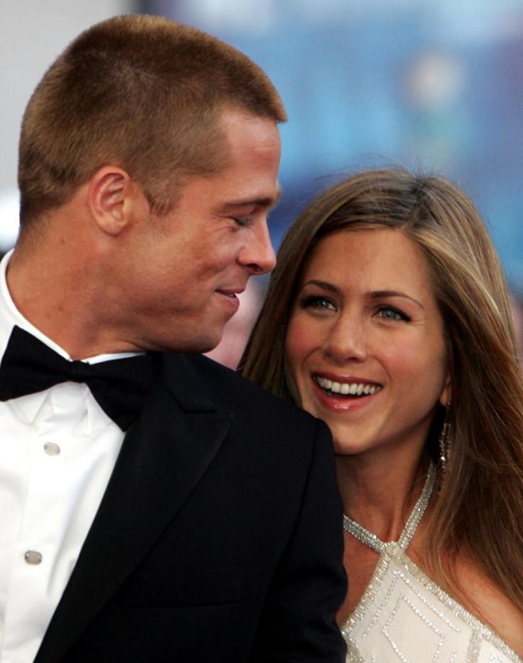 File image of Hollywood power couple Brad Pitt and Jennifer Aniston.