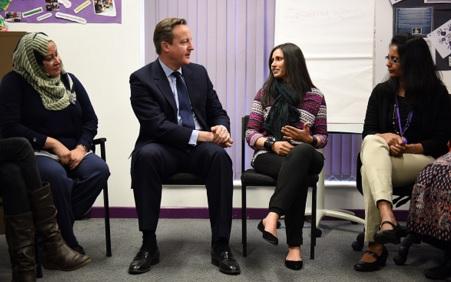 Cameron speaks to Muslim women