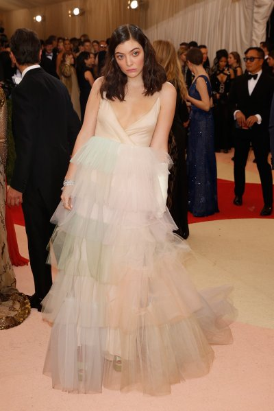 Lorde at the Met Gala 2016