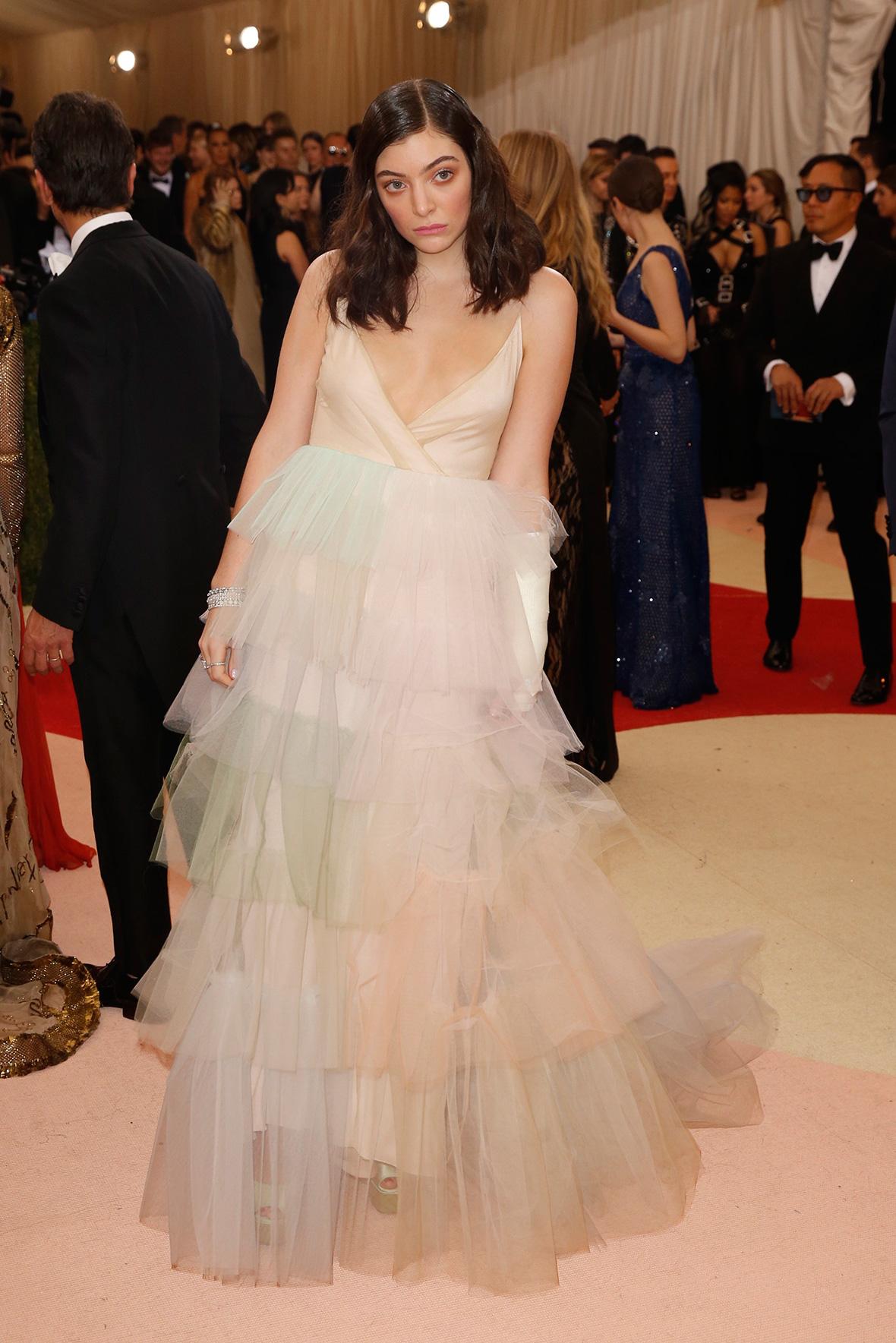 Lorde at the Met Gala 2016