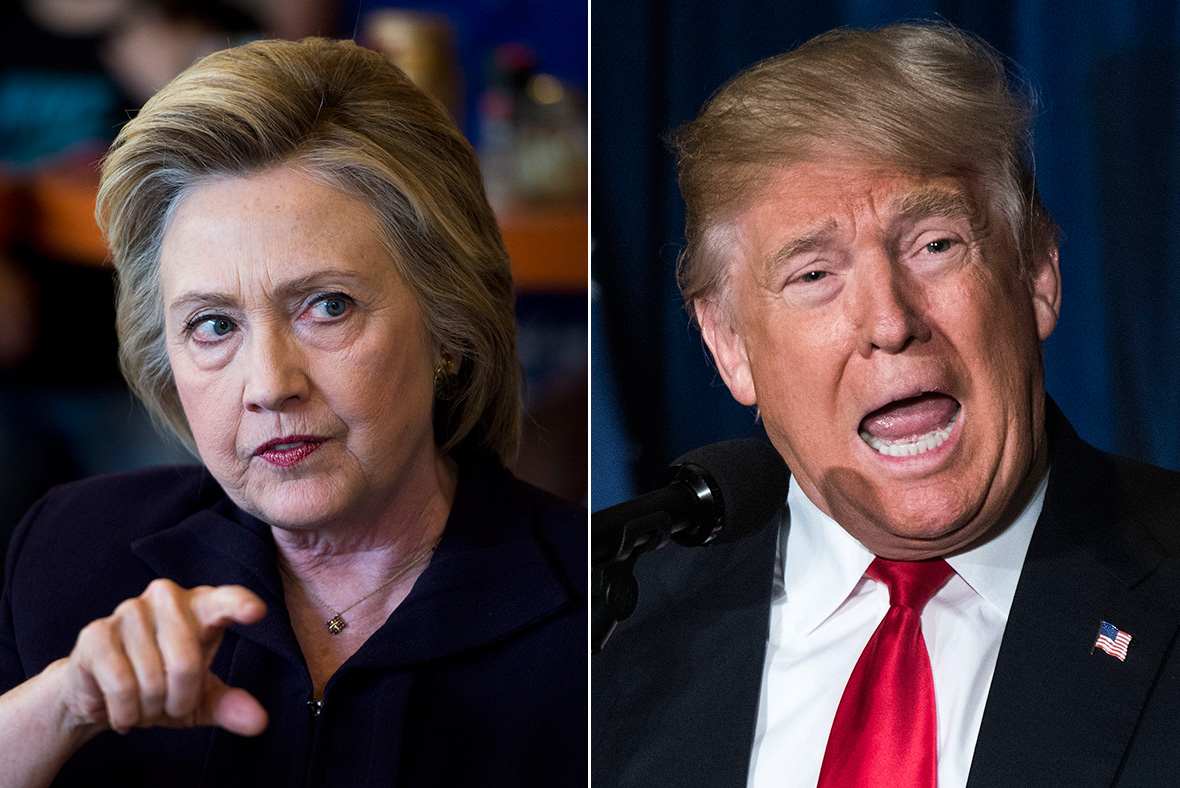 US Elections 2016: Hillary Clinton claims Donald Trump is a 'danger' to the country