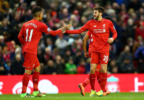 Adam Lallana and Roberto Firmino