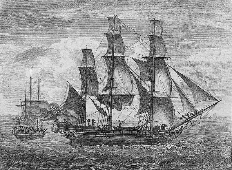 captain cook HMS Endeavour