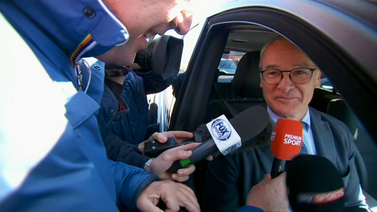 Claudio Ranieri was at 'maximum' emotion level as Leicester won Premier League