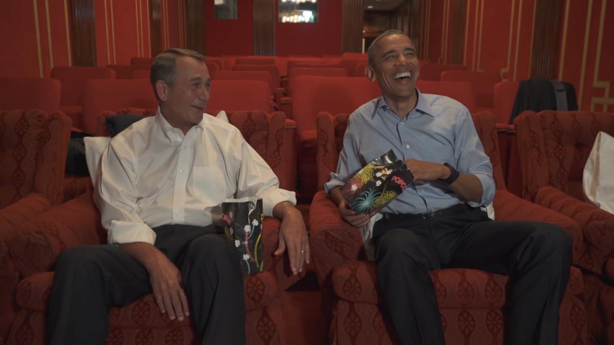 Barack Obama retirement spoof