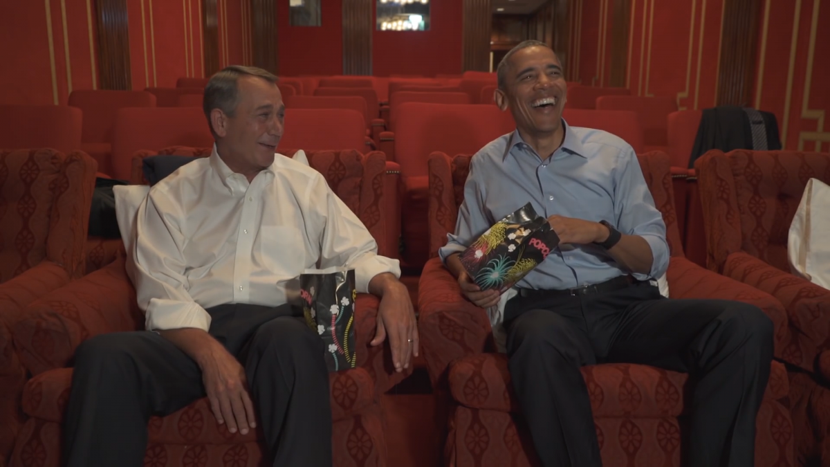 Barack Obama retirement spoof