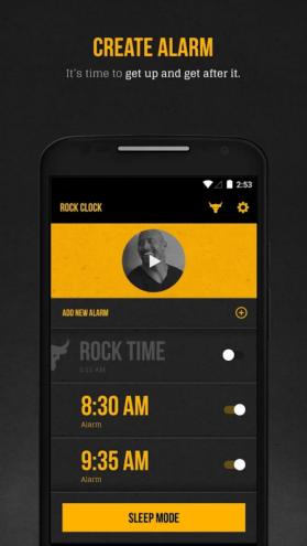 Rock Clock 2