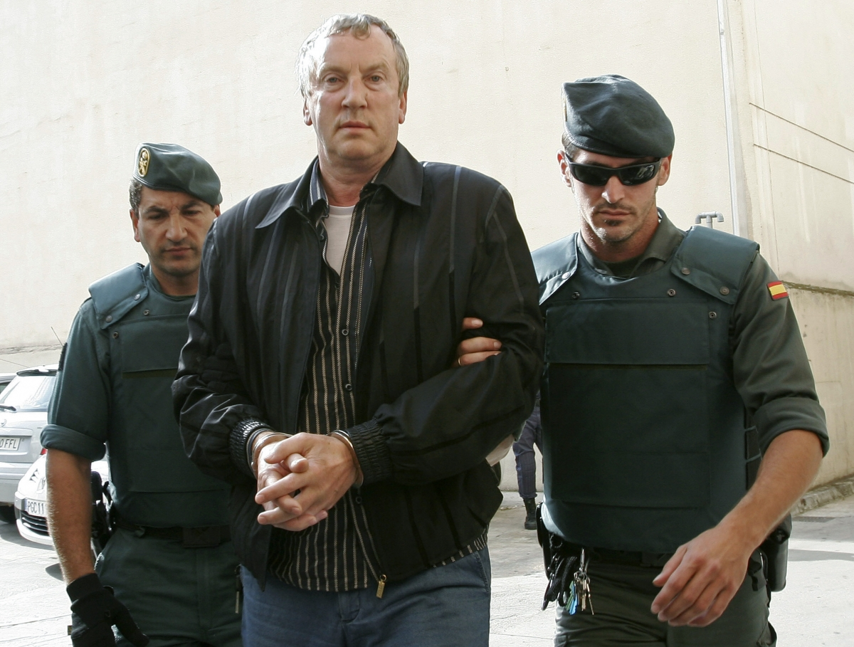 Gennady Petrov appears at a Majorca court