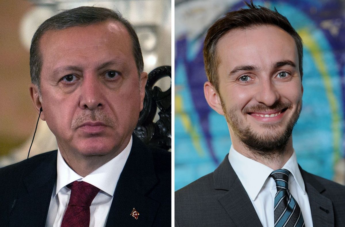Erdogan sued Boehmermann
