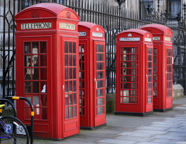 Britain's red telephone boxes to get mini-office makeover