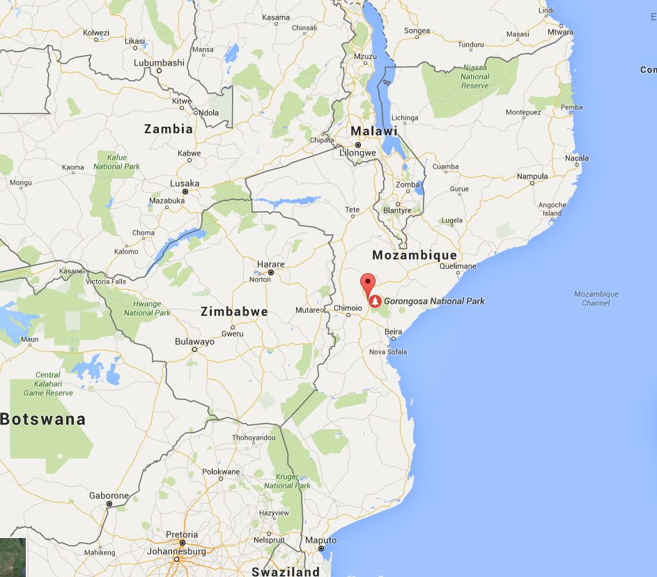 Sofala Province in Mozambique