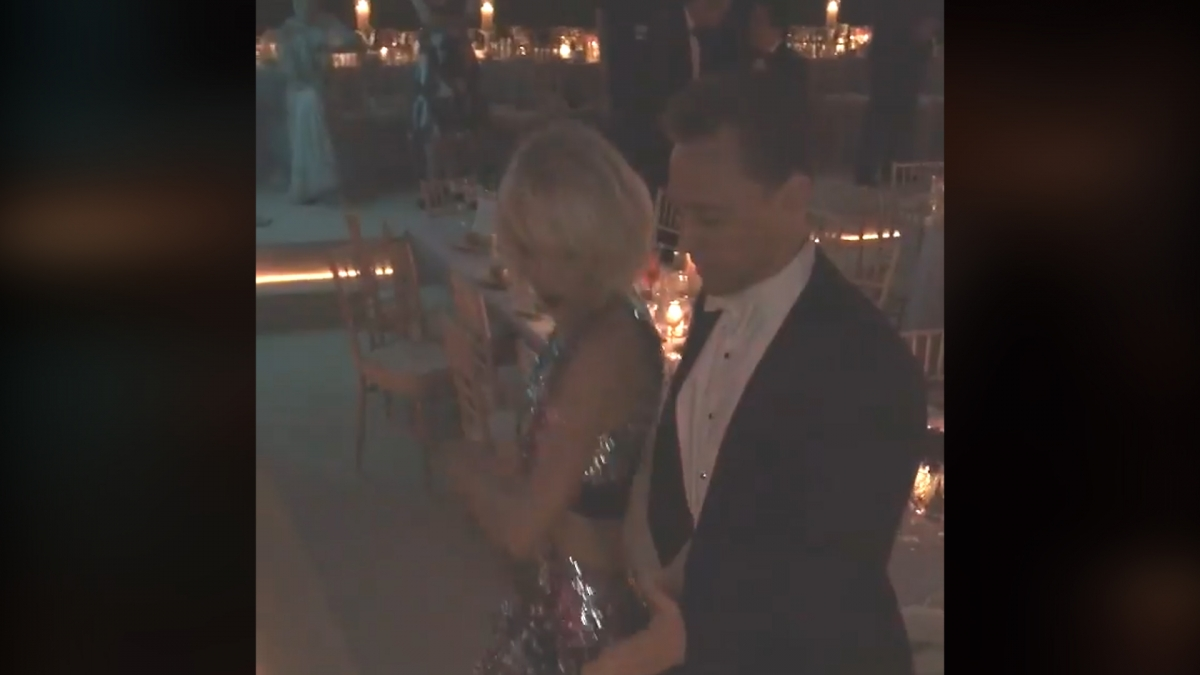 Watch Taylor Swift and Tom Hiddleston dance-off during Met Gala
