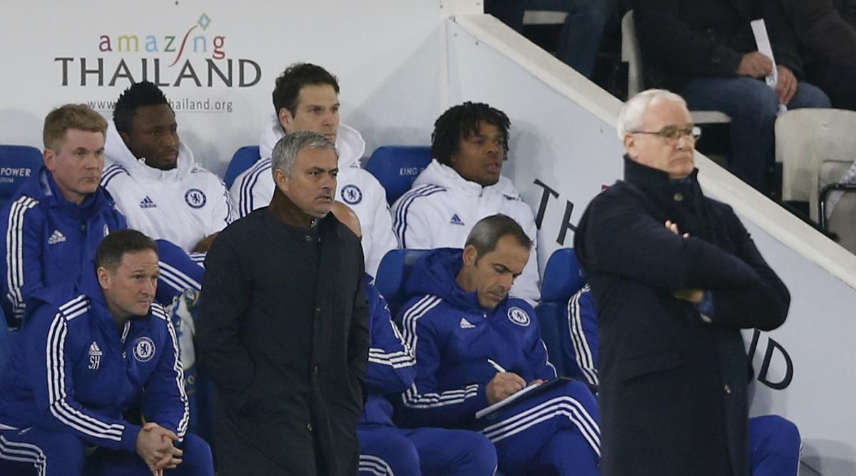 Jose Mourinho & Claudio Ranieri
