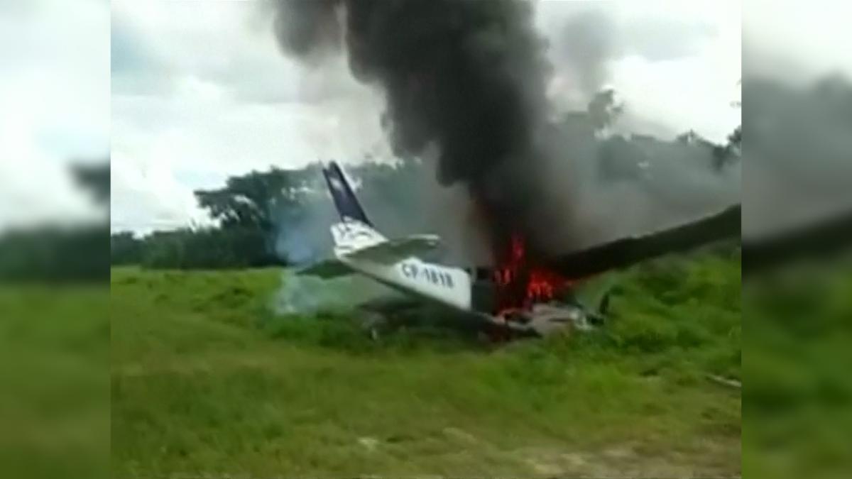 Plane shot down