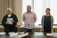 Lutz Bachmann appears at court in Dresden
