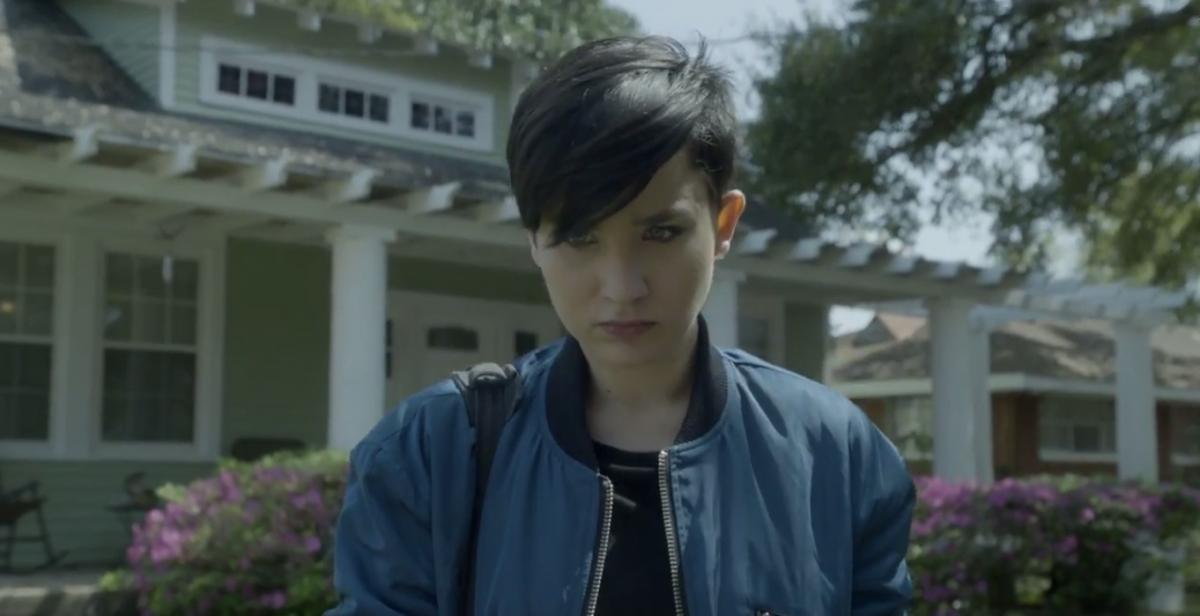 Audrey from Scream TV series
