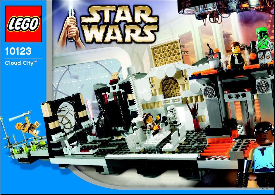 Lego Star Wars Cloud City 10123