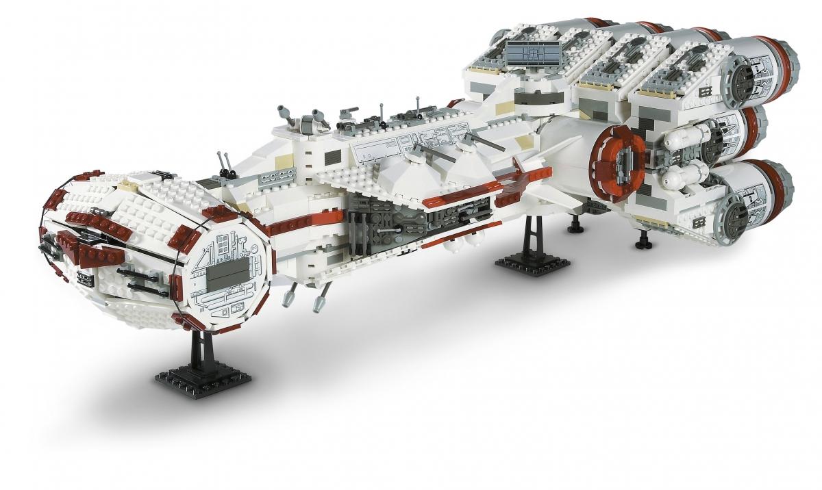 Lego Star Wars Rebel Blockcade Runner 10019