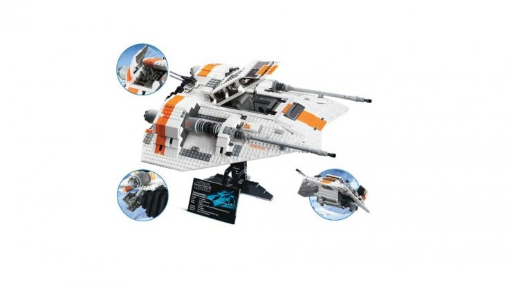 Lego Star Wars Rebel Snowspeeder 10129