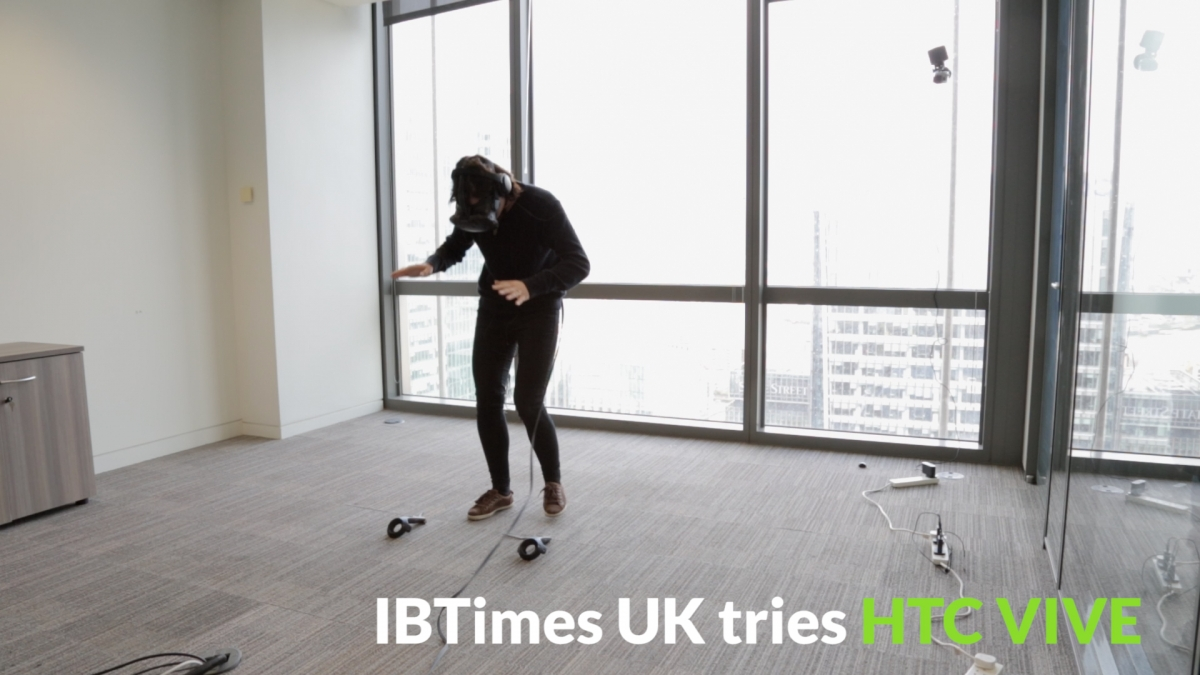 IBTimes UK tries HTC VIVE