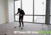 IBTimes UK tries HTC VIVE
