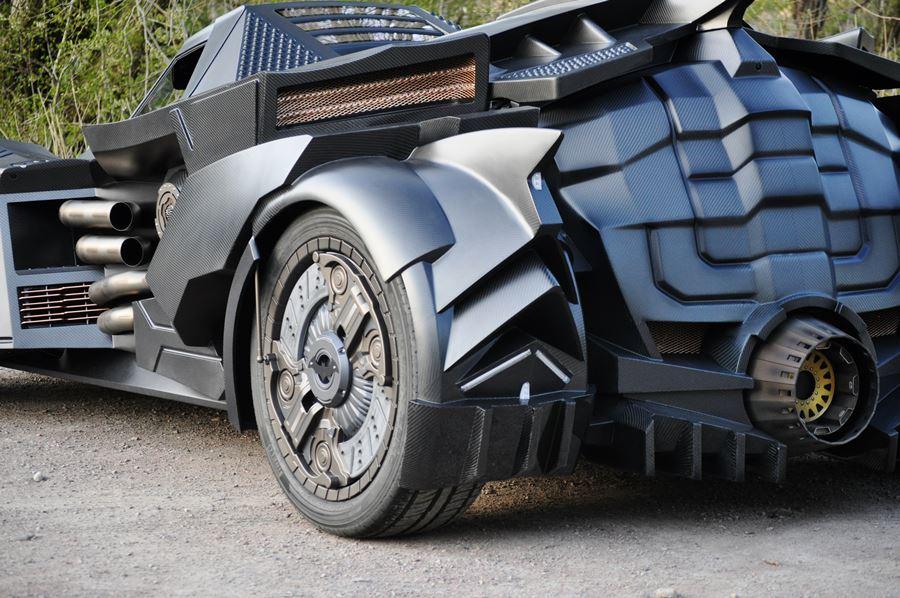 Batmobile 2.0 rear