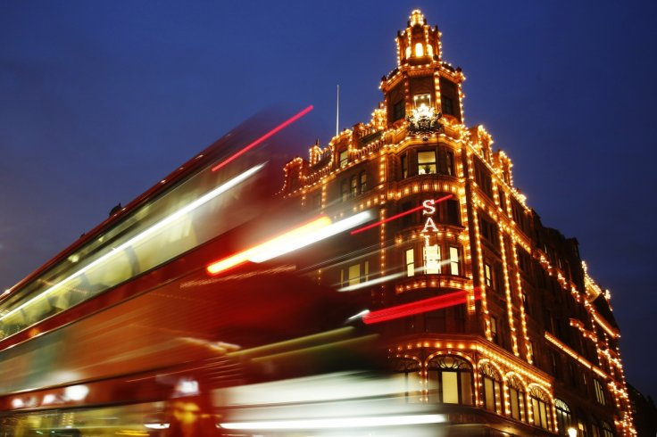 London Harrods viral photo